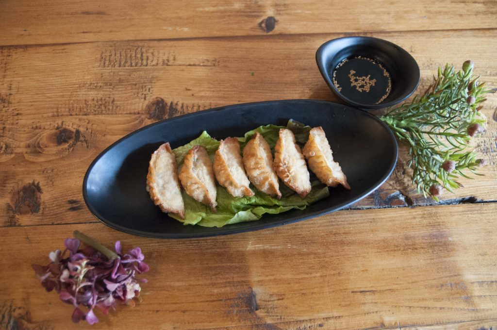 Lunch – Crispy Chicken Gyoza