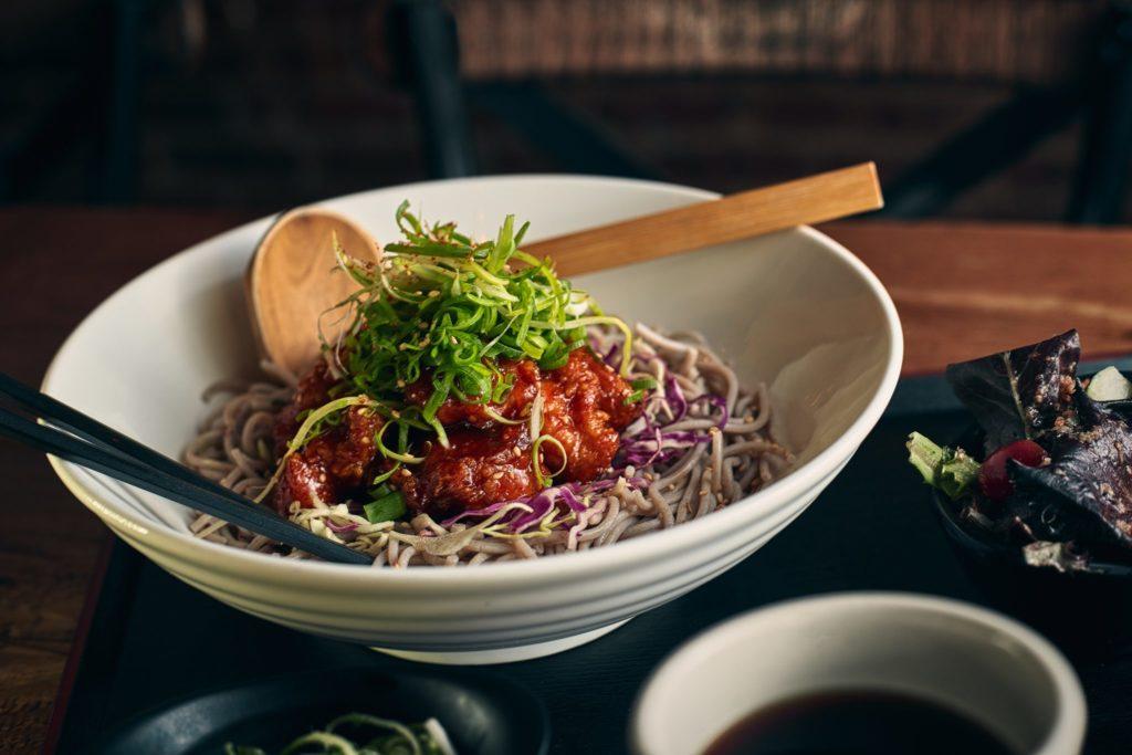 Lunch – Cold Chicken Nanban Soba