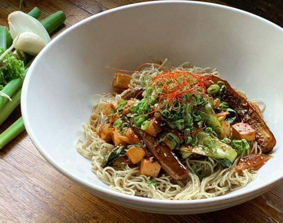 Mabo Tofu Dry Ramen