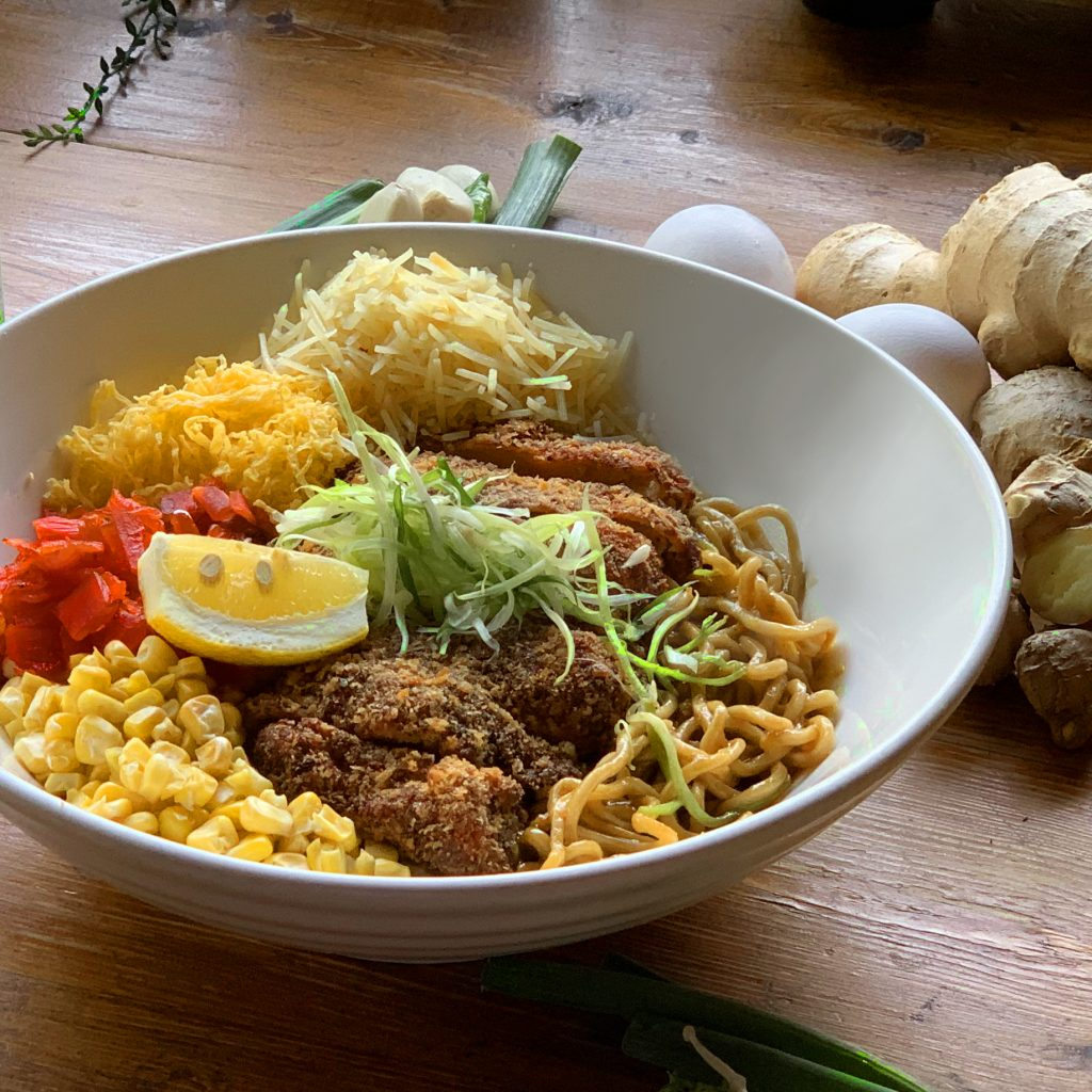 Japanese Chicken Curry Dry Ramen