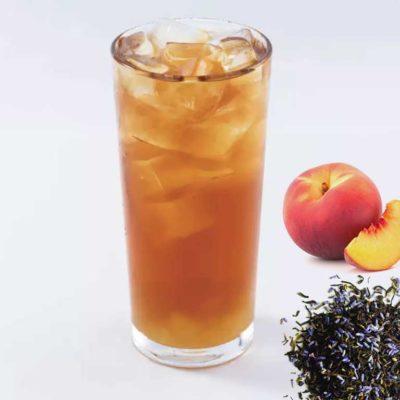 Peach Lavender Black